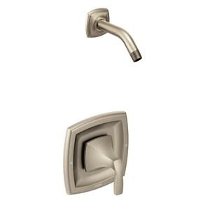 Moen Voss™ Single Handle Shower Faucet in Brushed Nickel MT3692NHBN
