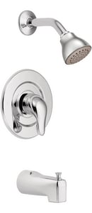 Moen Chateau® Single Handle Single Function Bathtub and Shower Faucet in Polished Chrome (Trim Only) MTL471EP