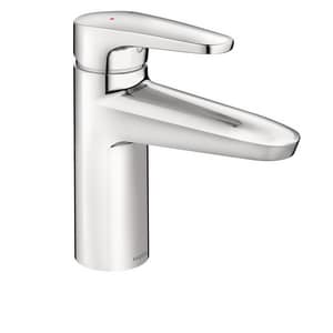 Moen M-Dura™ Single Handle Centerset Bathroom Sink Faucet in Polished Chrome M9417F05