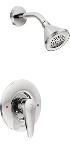 Moen M-Dura™ 1.5 gpm Pressure Balancing Shower Trim Only with Single Lever Handle in Polished Chrome MT9375EP15