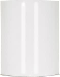 Crispo White 1 18W GU24 CFL SCONCE N60923