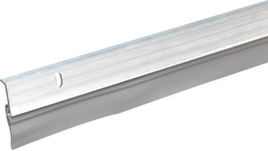 Thermwell Products Frost King 36 in. Aluminum Vinyl Door Bottom in Silver TA5936H