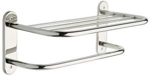 Franklin Brass 18 in. Towel Shelf in Stainless Steel L2781SSA1