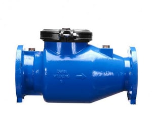 Zurn Wilkins Model 310 6 in. Epoxy Coated Ductile Iron Flanged 175 psi Backflow Preventer W310U