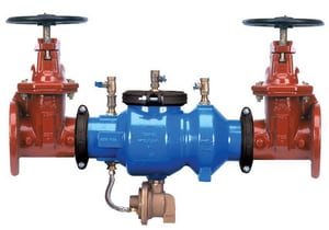 Zurn Wilkins 375A 6 in. Ductile Iron Flanged 175 psi Backflow Preventer W375AFSCU