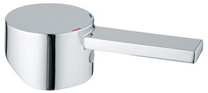 GROHE Allure 5-1/2 in. Brass Handle in Starlight Chrome G46609000