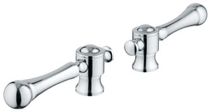 GROHE® Bridgeford™ Brass Handle in Polished Chrome G18173000