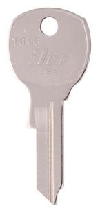Kaba Ilco Brass Nickel Plated National Mailbox Key (50 per Box) I1646