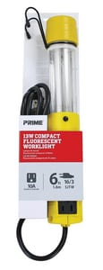 Prime Wire and Cable 6 ft. 13W Compact Fluorescent Worklight PTLPL210606