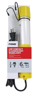 Prime Wire and Cable 6 ft. 13W Compact Fluorescent Worklight PTLPL220506