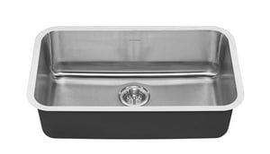 American Standard Portsmouth® 29-3/4 x 18 in. Stainless Steel Single Bowl Undermount Kitchen Sink A18SB9301800S075