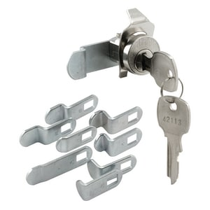 Primeline Products Universal Mailbox Lock in Nickel PMP4531
