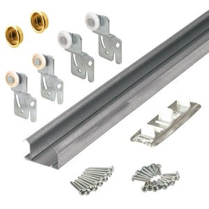 Primeline Products 60 in. Bypass Closet Track Kit P161