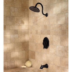 Pfister Hanover™ Tub and Shower Combo in Tuscan Bronze P808TMYY