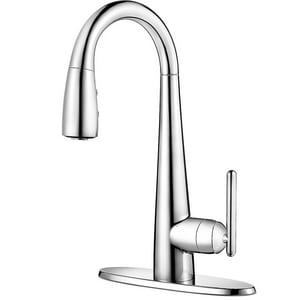 Pfister Lita™ Single Lever Handle Bar Faucet in Polished Chrome PGT72SM