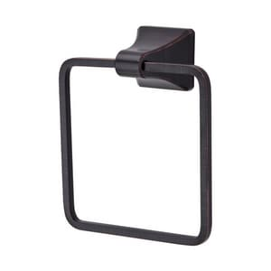 Pfister Park Avenue™ Rectangular Closed Towel Ring in Tuscan Bronze PBRBFE1Y