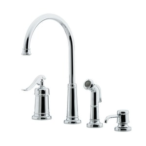 Pfister Ashfield 3 Or 4 Hole Kitchen Faucet With Single Lever
