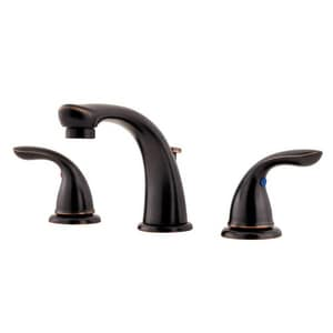 Pfister Pfirst Series™ Two Handle Widespread Bathroom Sink Faucet in Tuscan Bronze PLG149610Y