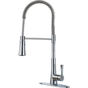 Pfister Zuri™ Single Handle Pull Down Kitchen Faucet in Polished Chrome PLG529MCC