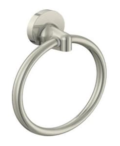 PROFLO® Round Closed Towel Ring in Brushed Nickel PF01TRBN