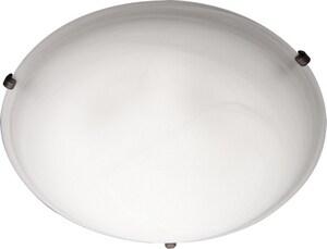 Maxim Malaga 60 W 4-Light Medium Flush Mount Ceiling Fixturein Oil Rubbed Bronze M11060MROI