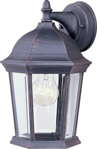 Maxim Lighting International Builder Cast 12 x 8 in. 100W 1-Light Outdoor Wall Lantern M1024