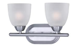 Maxim Lighting International Axis 60W 2-Light Bath Light in Polished Chrome M11312FTPC