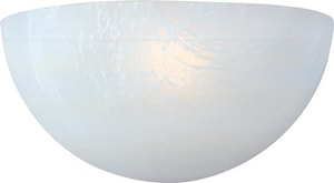 Maxim Lighting International Essentials 100W 1-Light Wall Sconce in White M20585MRWT