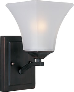 Maxim Lighting International Aurora 5-1/2 in. 1-Light Wall Sconce in Oil Rubbed Bronze M20098FTOI