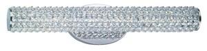 Maxim Lighting International 12W 1-Light Linear LED Bath Light in Polished Chrome M32503BCPC