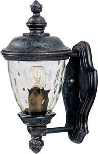 Maxim Lighting International Carriage House 60W 1-Light Medium E-26 Incandescent Wall Lantern in Oriental Bronze M40495WGOB