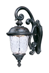 Maxim Carriage House 1-Light 15W Outdoor LED Wall Sconce in Oriental Bronze M55497WGOB