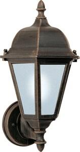 Maxim Lighting International Westlake EE 15 in 13W 1-Light Compact Fluorescent GU24 Outdoor Wall Lantern in Rust Patina M85102RP