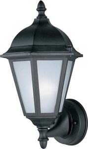 Maxim Westlake EE 15 in 13W 1-Light Compact Fluorescent GU24 Outdoor Wall Lantern in Black M85102BK