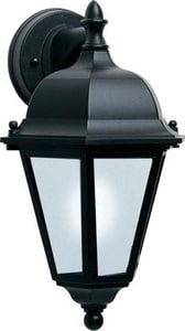 Maxim Westlake EE 15 in 13W 1-Light Compact Fluorescent GU24 Outdoor Wall Lantern in Black M85100BK