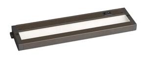 Maxim CounterMax 12 in. LED Under-Cabinet Light in Bronze M89983BZ