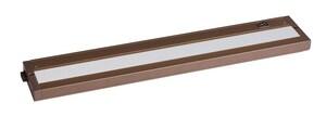 Maxim Lighting International CounterMax 18 in. LED Under-Cabinet Light in Bronze M89984BZ