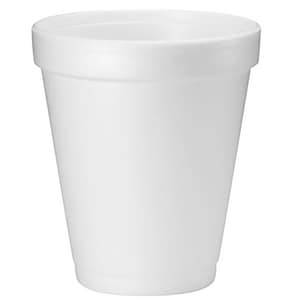Dart Container 8 oz. Foam Cup in White 1000-Pack D8J8