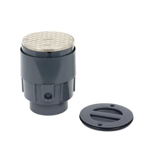 Oatey True Set™ On-Grade Clean-Out with Round Cover OTP42N
