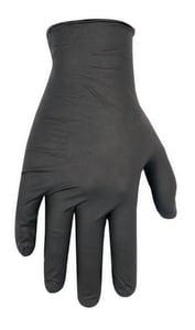 CLC Custom Leather Craft L Size Rubber Glove in Black (100 per Box) C2337