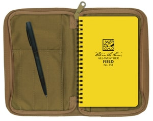 Forrestry Suppliers Inc. 7 in. Journal Spiral Notebook with Numbered Page PEC393N at Pollardwater