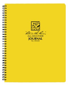 Forrestry Suppliers Inc. 11 in. Field Side Spiral Notebook PEC353MX at Pollardwater