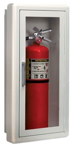Logistics Supply Company Surface Mount Fire Extinguisher Cabinet 26-1/2 x 13 x 6-5/8 in. L1013F10JL at Pollardwater