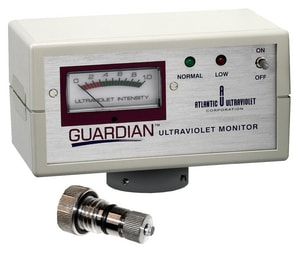 Atlantic UL Traviolet Guardian™ 120V Ultraviolet Monitor for Atlantic UL Traviolet Ultraviolet Sanitron AS50C, A250995 and AS5000C up to 20 gpm Water Purifiers A308130 at Pollardwater