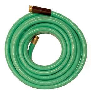5/8 X 50 FT HOSE With 3/4 GHT Brass Connector DFGH50 at Pollardwater