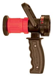 Dixon Valve & Coupling 1-1/2 in. 30 gpm NST Thermoplastic Ball Shut-Off Nozzle DFNPSO150F30