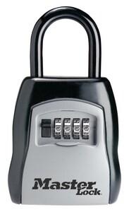 Master Lock Portable Shackle Style Key Storage Padlock M5400D