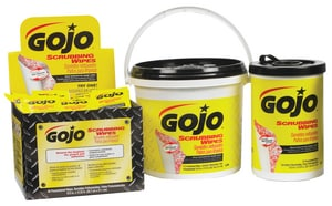 GOJO Scrubbing Wipe 170-Count GGOJ639802 at Pollardwater