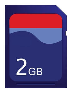 Dickson Company Removable Flash Storage Device for Dickson PR125 PR325 and PR500 Pressure Data Loggers DA210