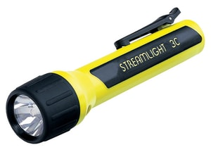 Streamlight ProPolymer® Xenon Flashlight in Yellow S33254 at Pollardwater